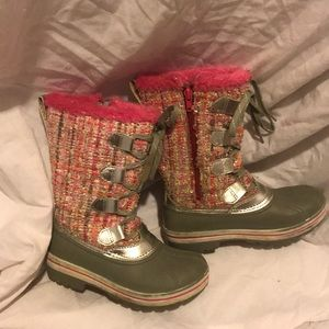 Winter waterproof snow boots